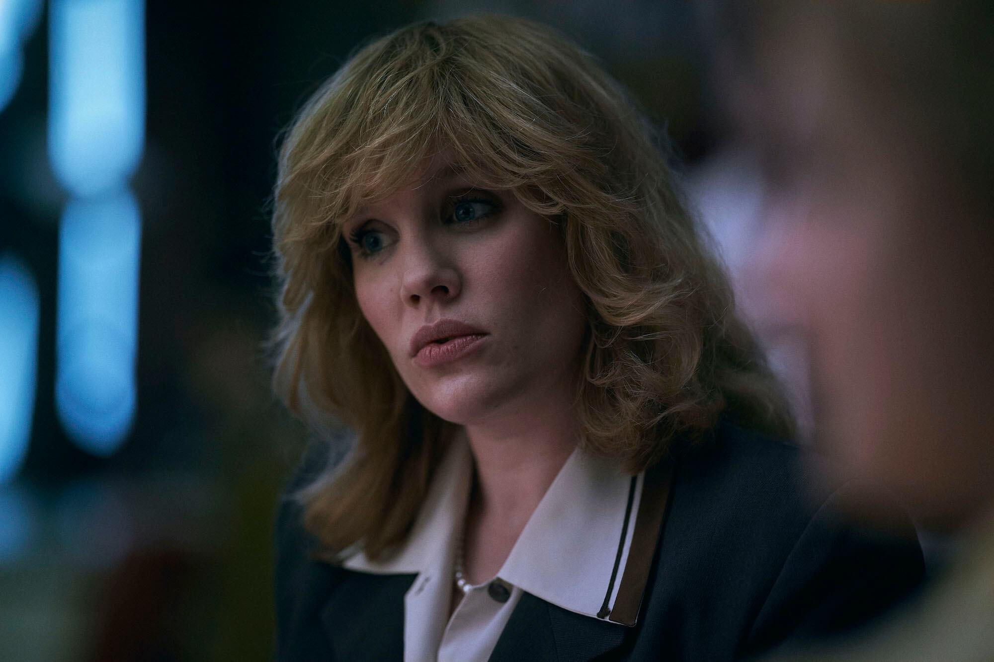 Emerald Fennell as Camilla in The Crown season 4