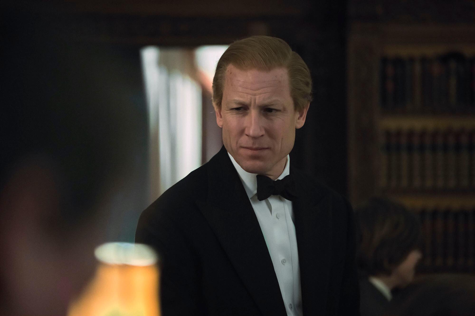 Tobias Menzies as Philip in The Crown S4