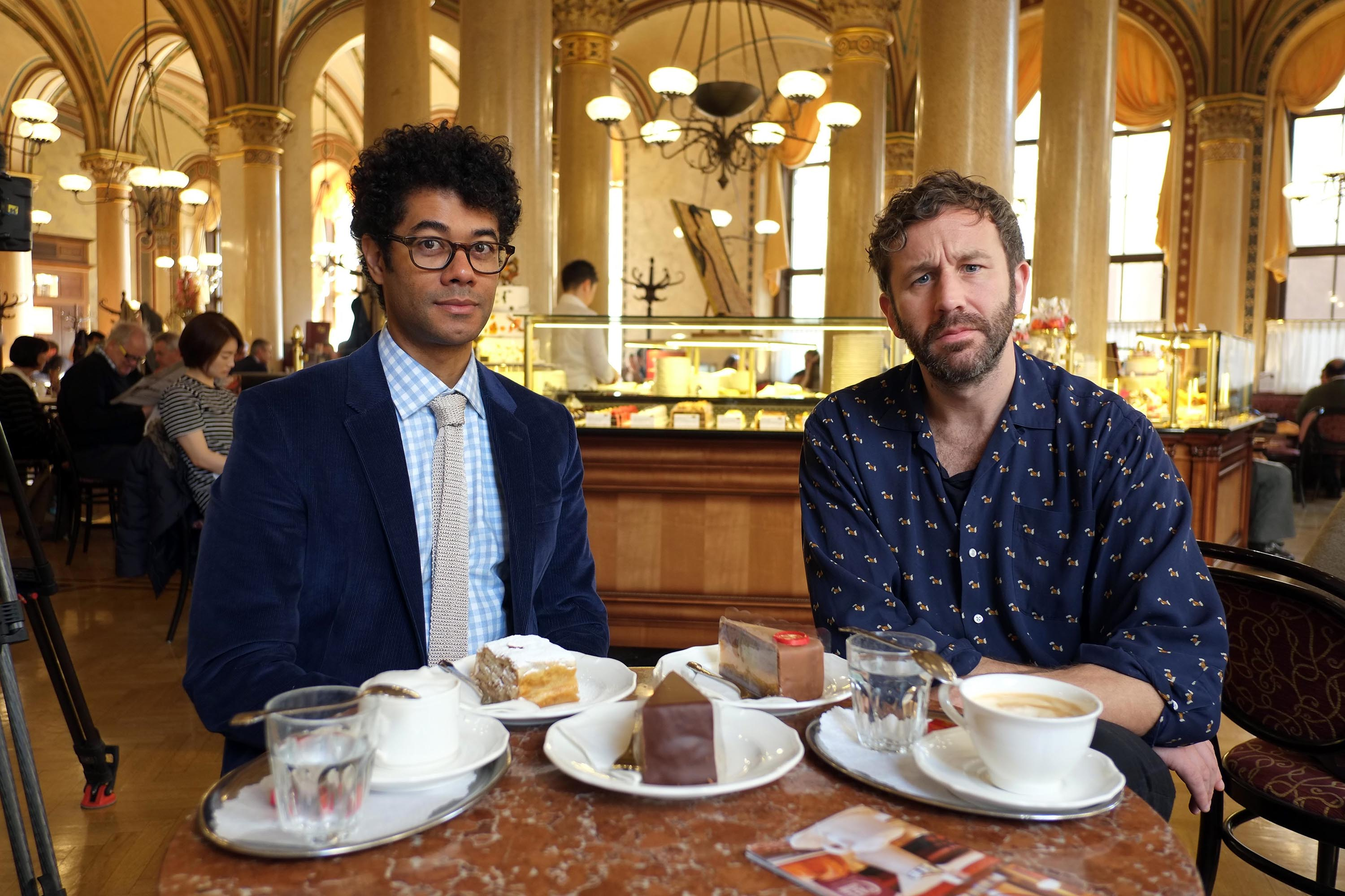 travel mans greatest trips out and about richard ayoade chris o'dowd