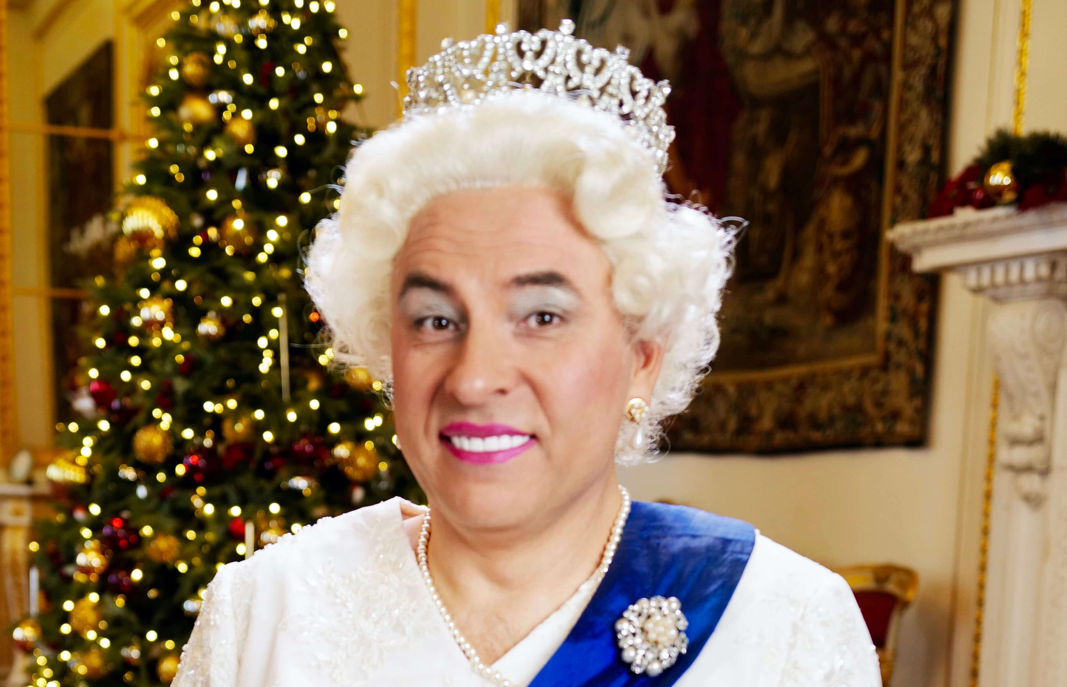david walliams as the queen