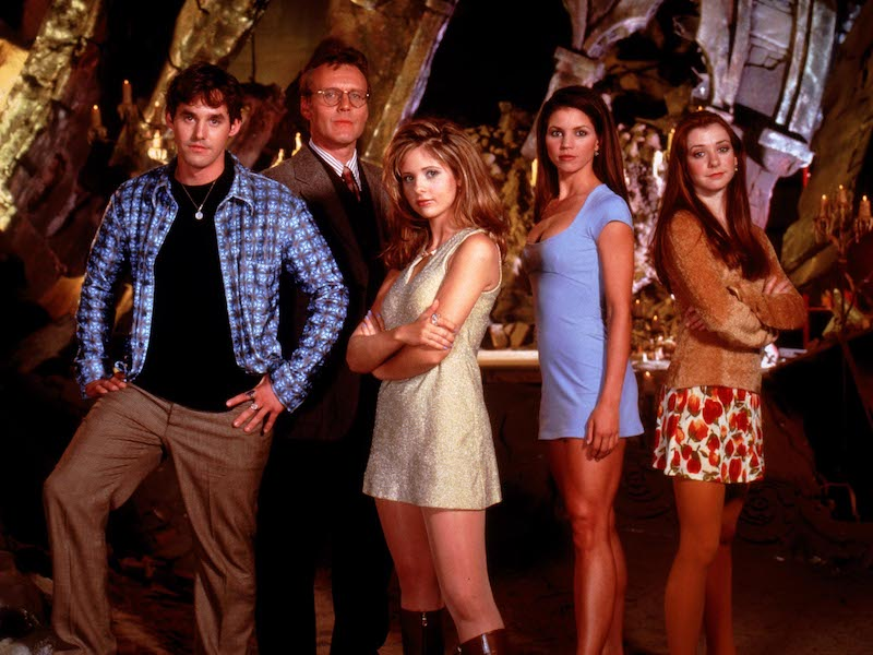 Buffy, Giles, Cordelia, Xander, Willow
