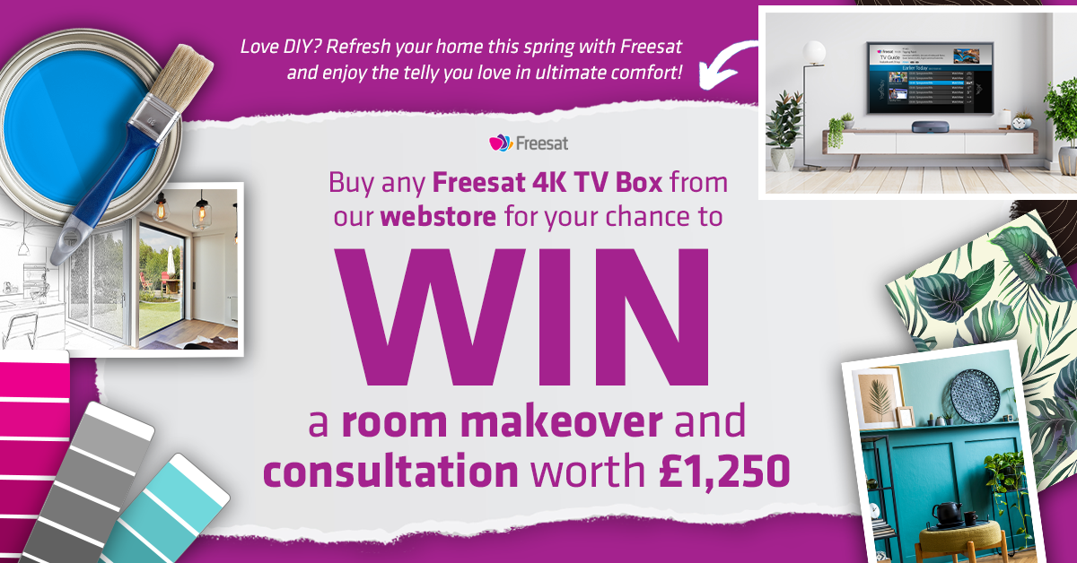 freesat DIY competition banner