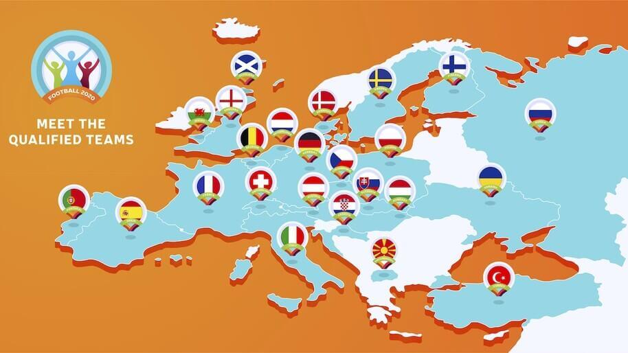 euros teams