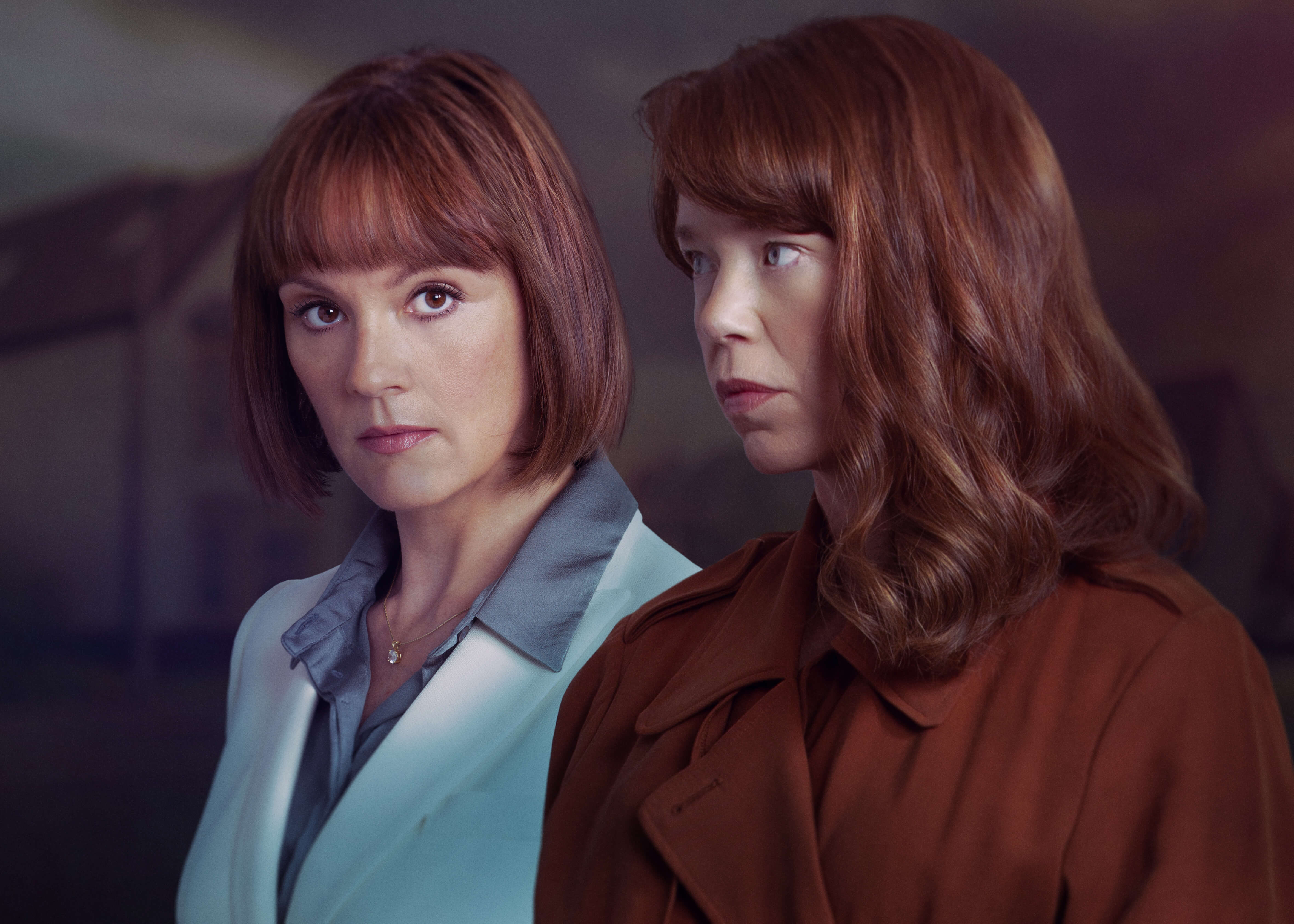 anna maxwell martin and rachael stirling in hollington drive