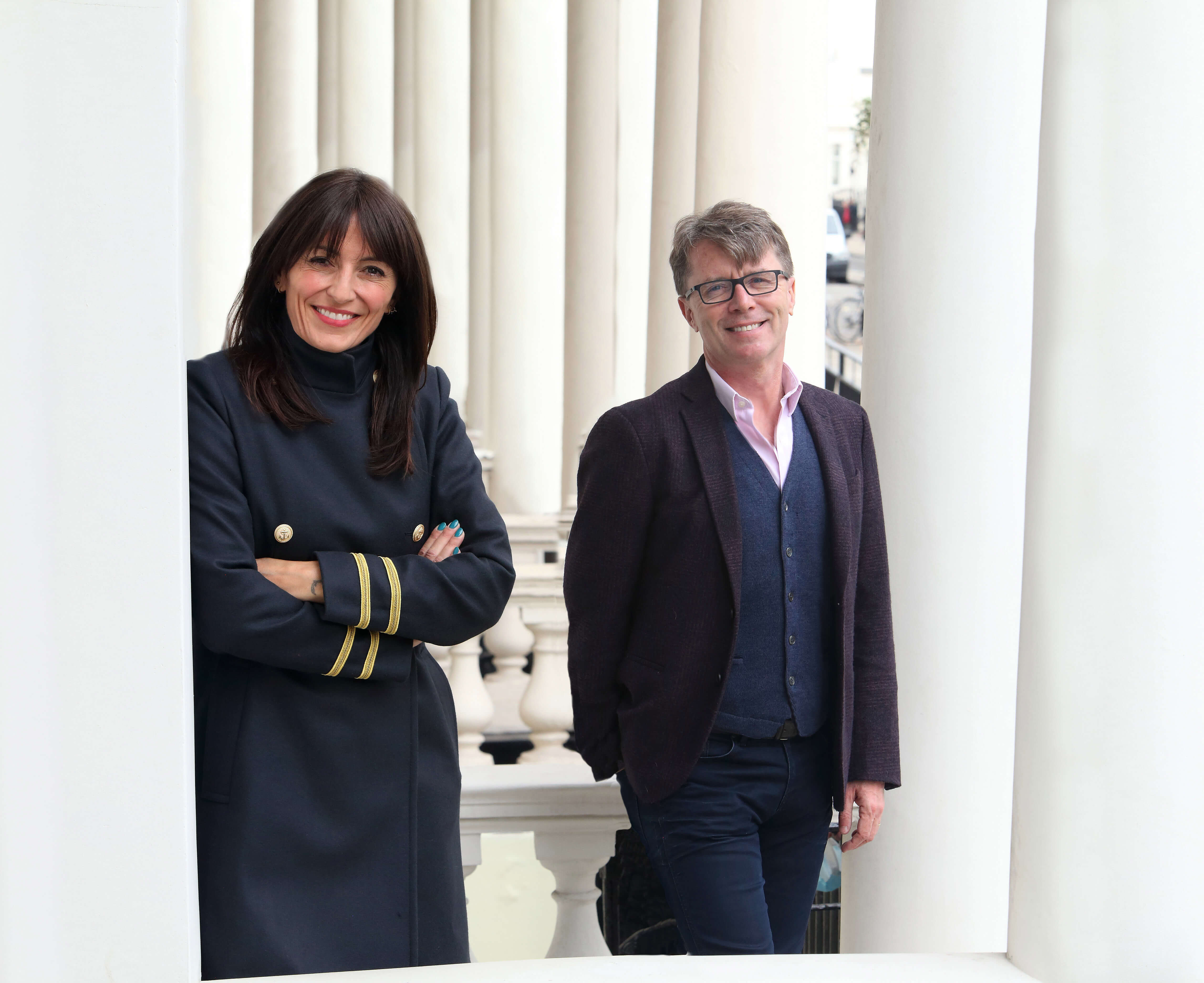 long lost family Davina McCall and Nicky Campbell