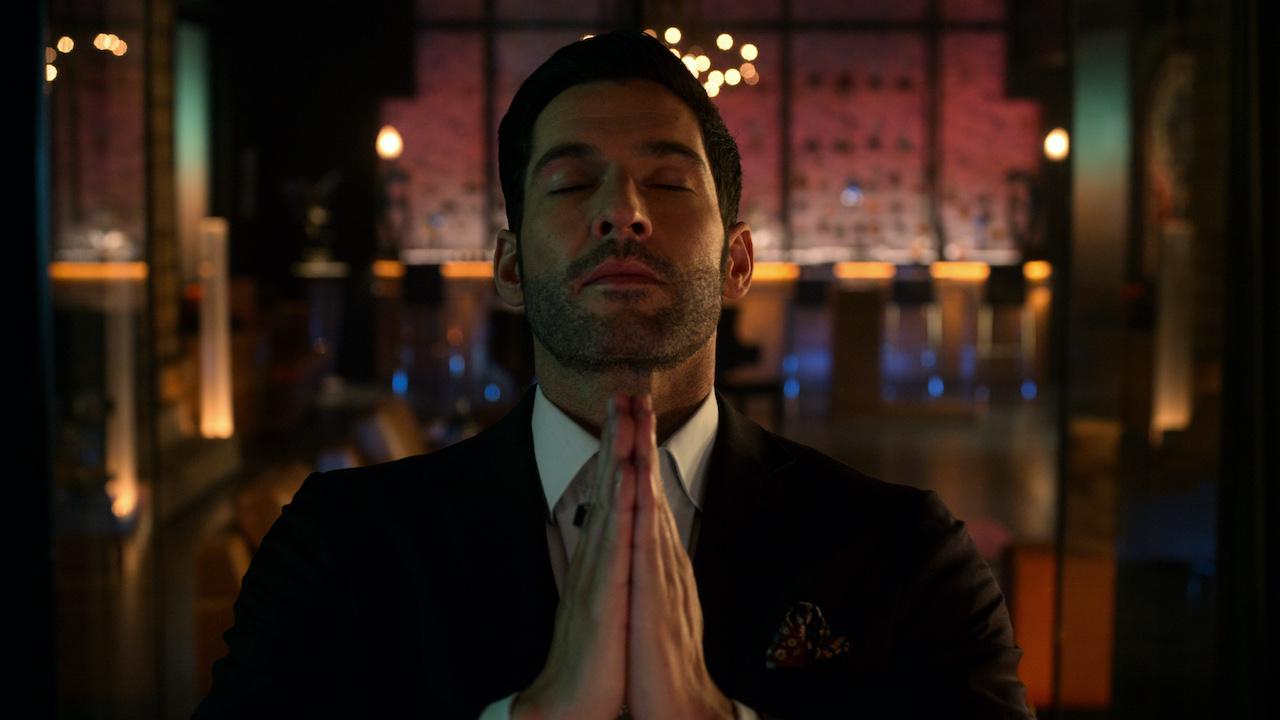 lucifer praying