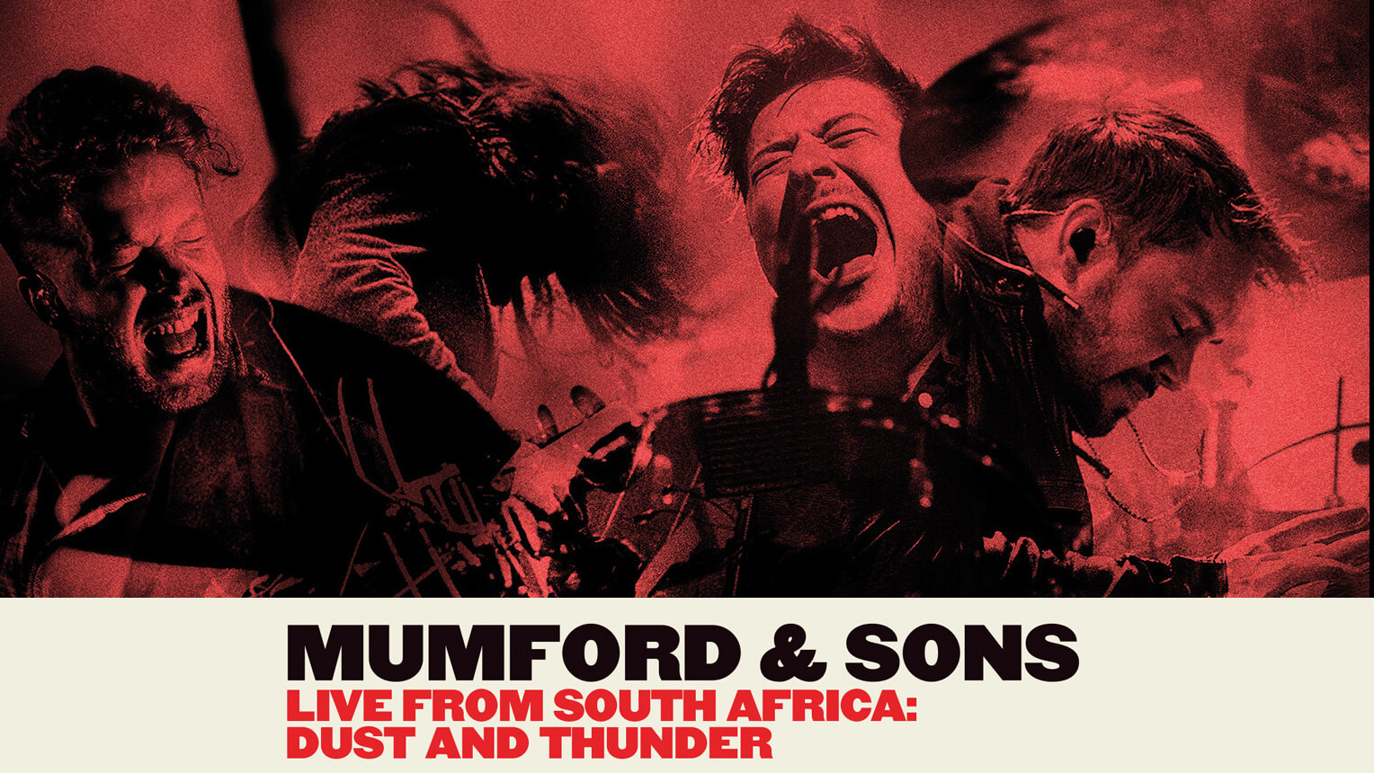 mumford & sons live from south africa poster