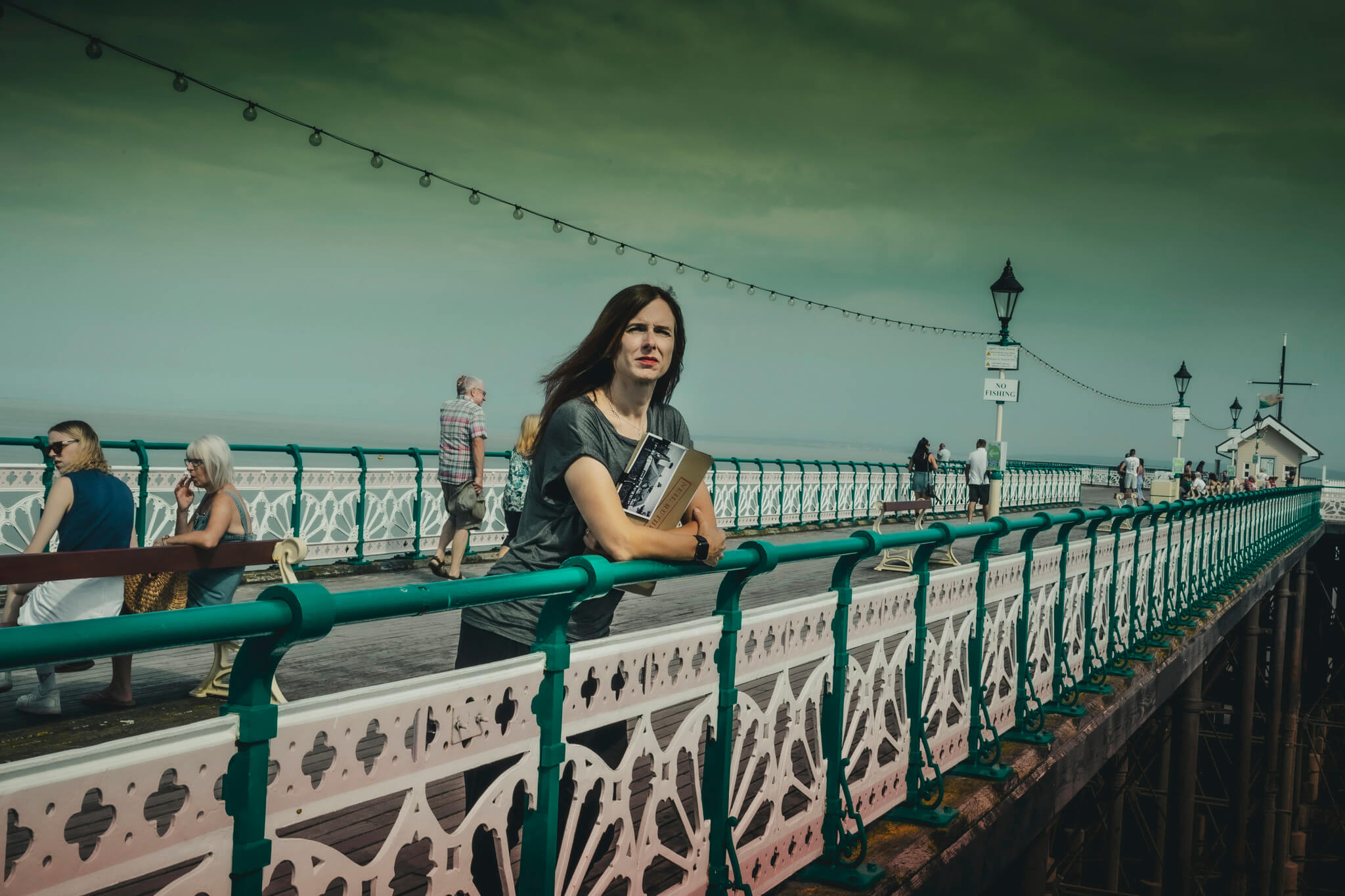 nell darby on seafront