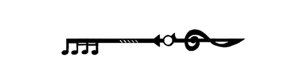 music key drawing