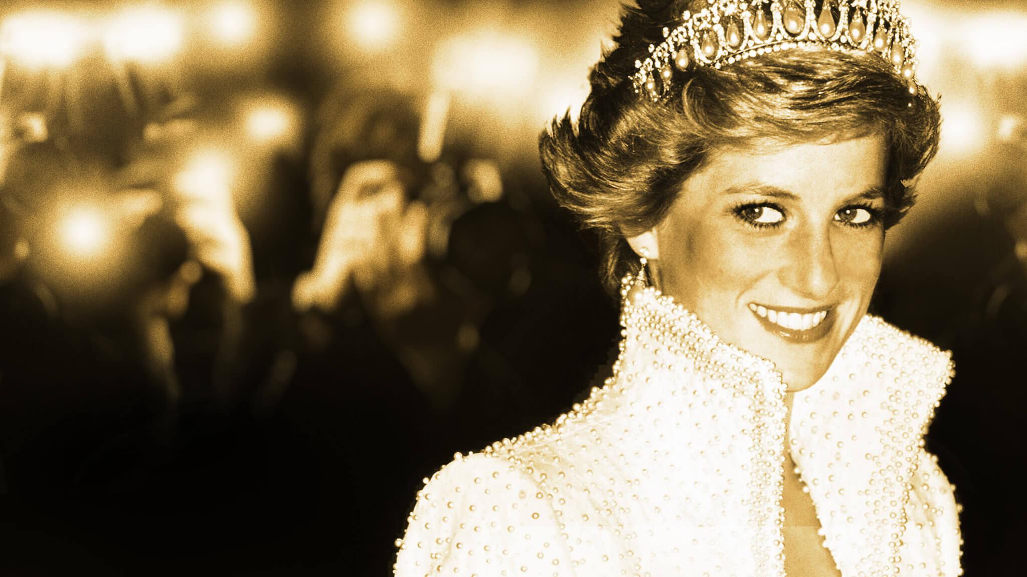 princess diana in tiara