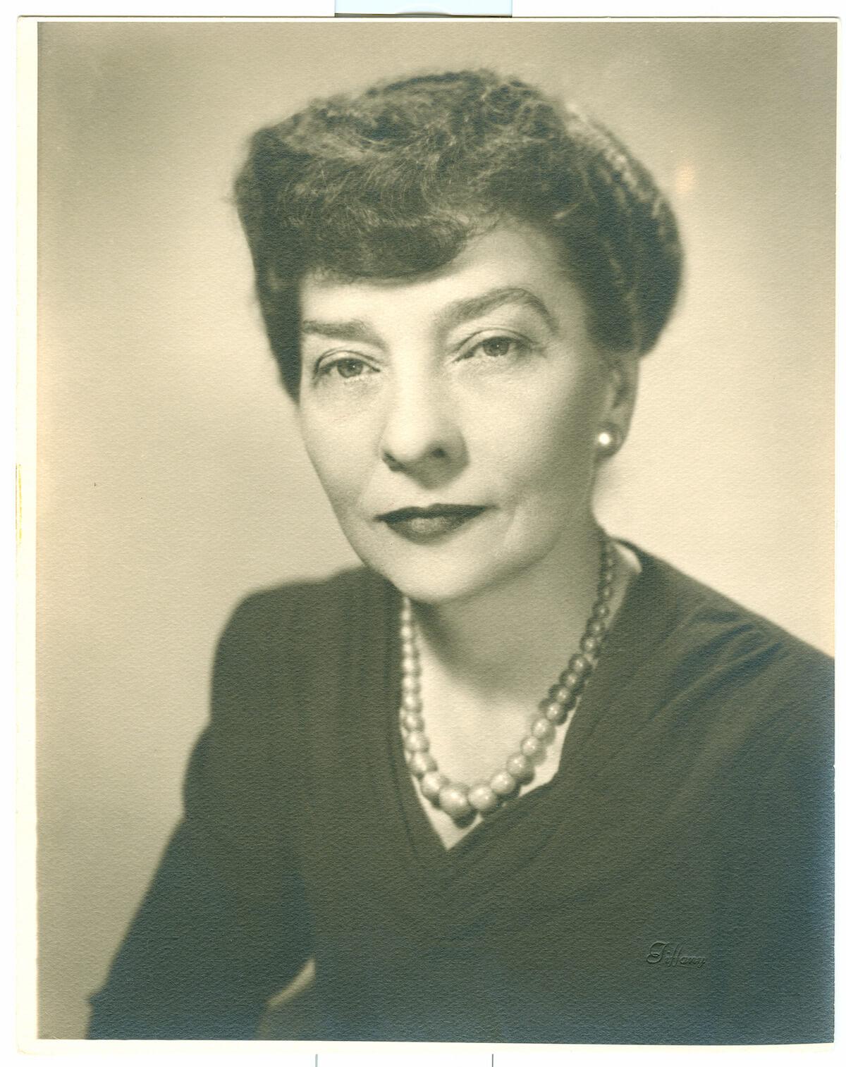 sepia photo of Elizebeth Smith Friedman