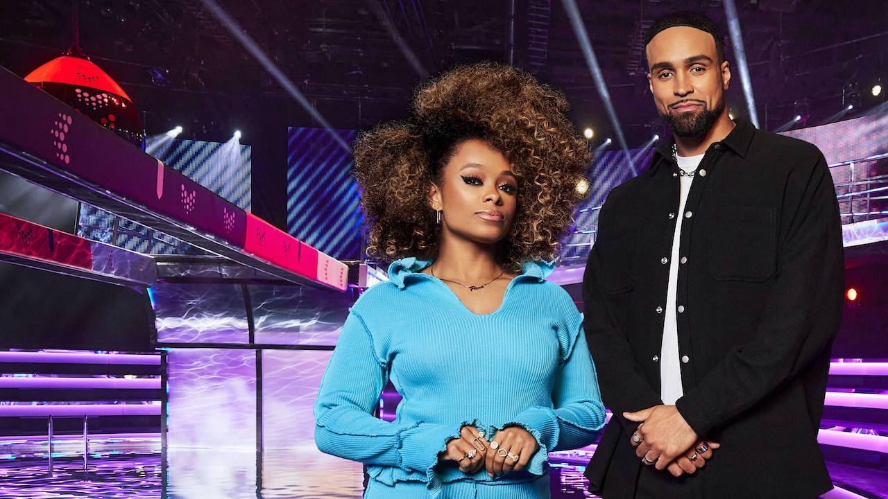 ashley banjo and fleur east the void