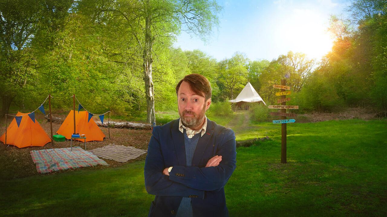 david mitchell at campground