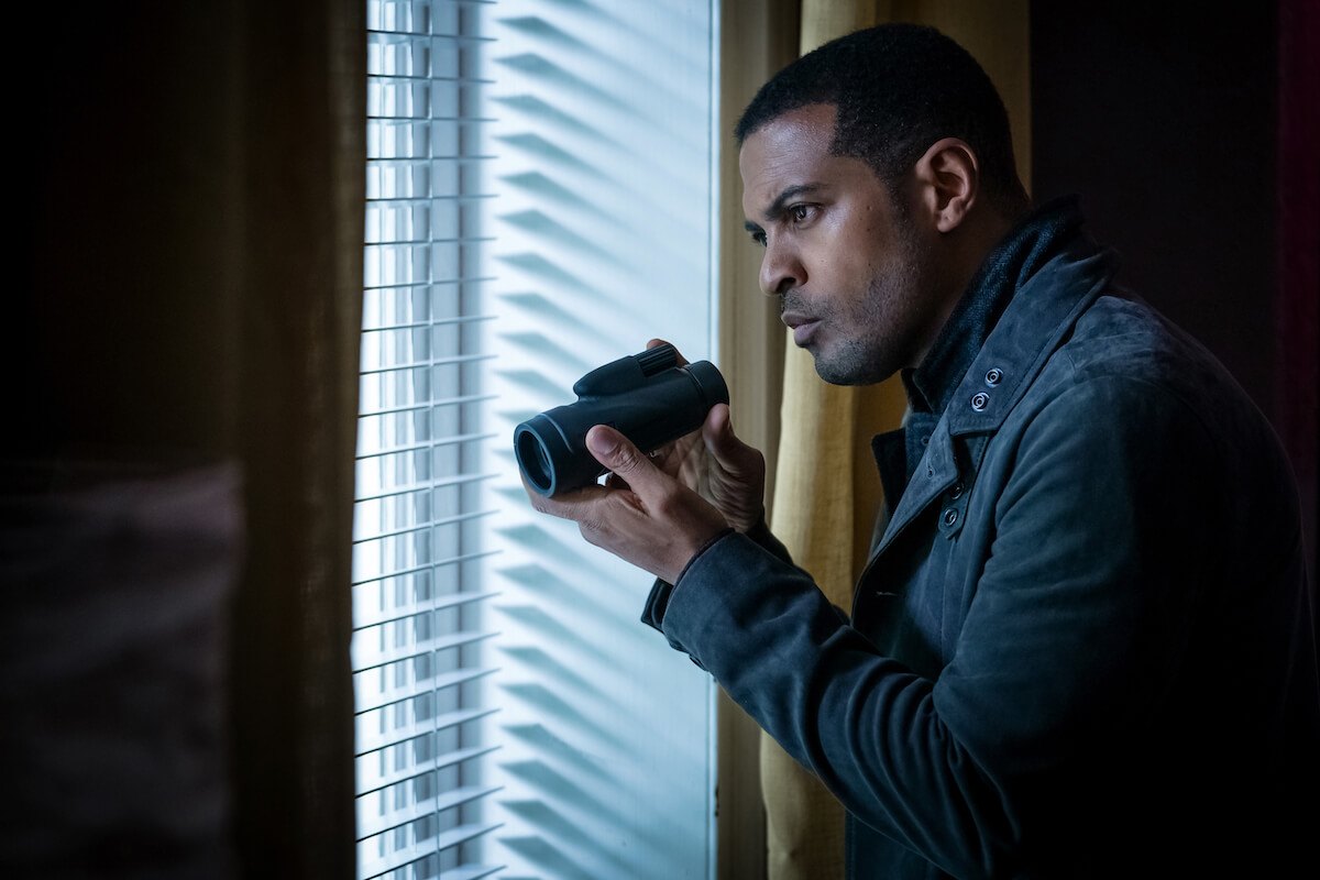 noel clarke with a camera