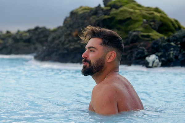 Zac Efron in Iceland