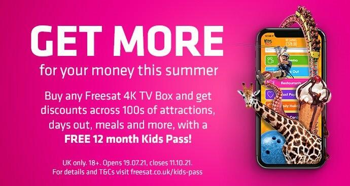 Kids Pass offer