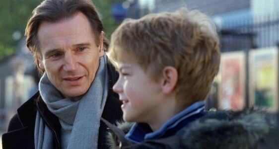 Liam Neeson in Love Actually