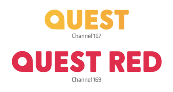 Quest and Quest Red logos