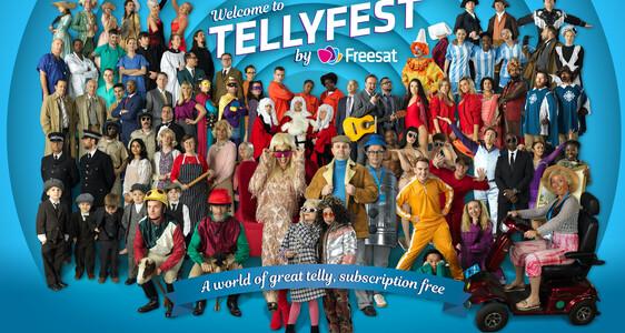 freesat tellyfest campaign cast