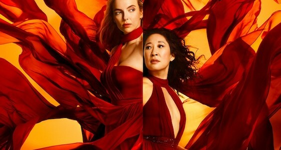jodie comer and sandra oh killing eve series 3