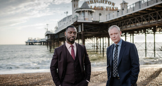 grace dead simple richie campbell and john simm at brighton pier teaser