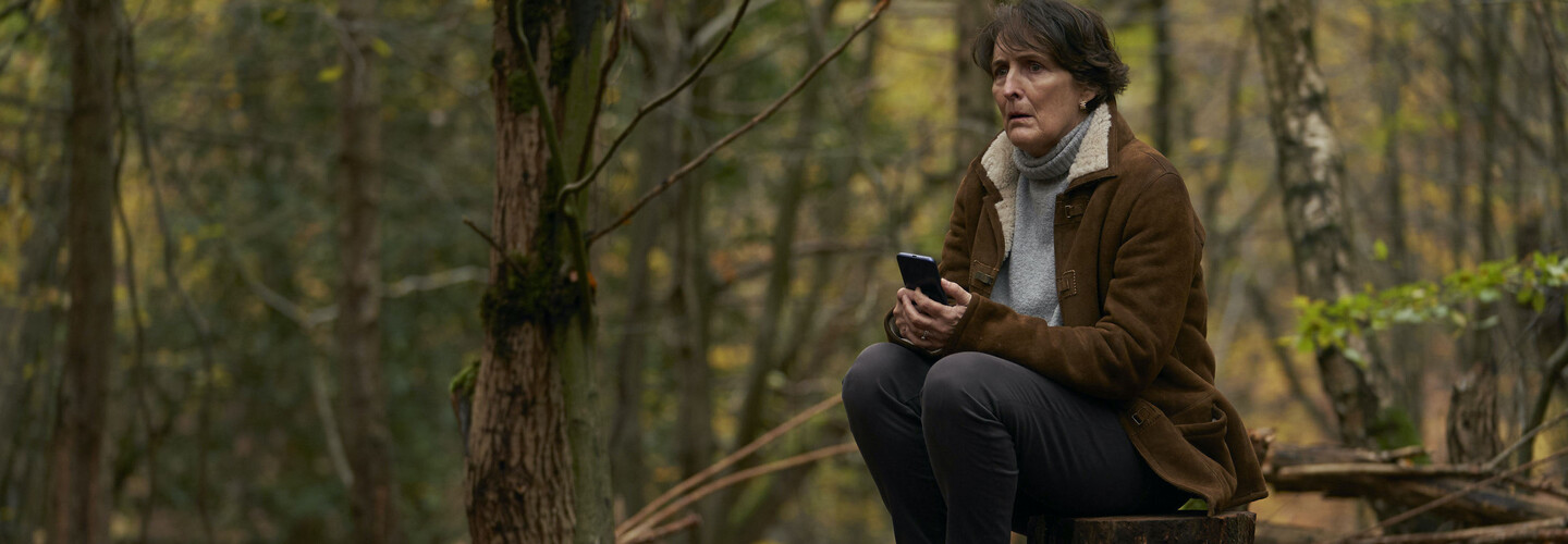 fiona shaw in the woods