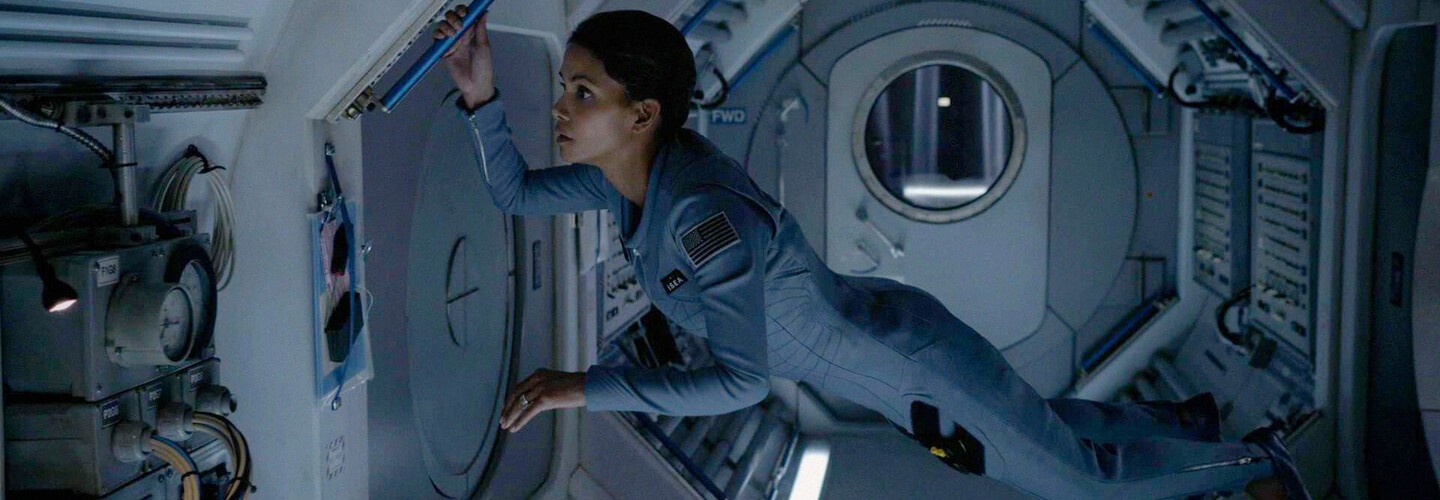 halle berry in extant banner