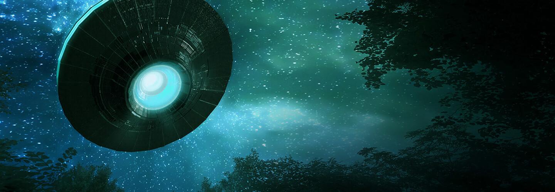 ufo blaze imagery banner