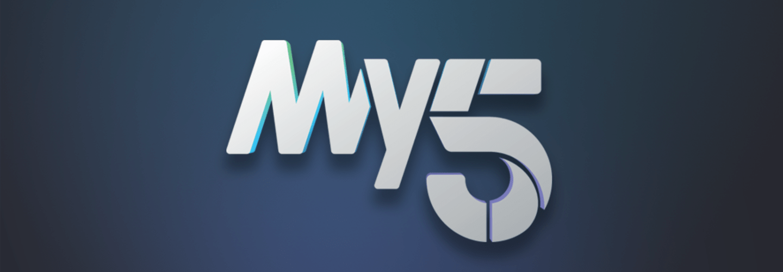 my5 logo banner