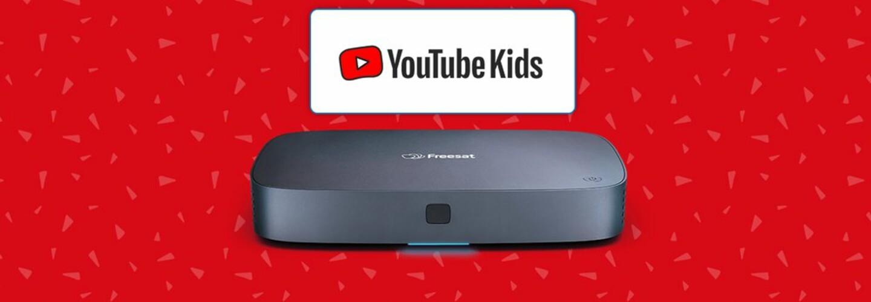 YouTube Kids Freesat launch banner