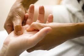 Taktil massage och respektfullt bemötande