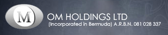 OM HOLDINGS LIMITED