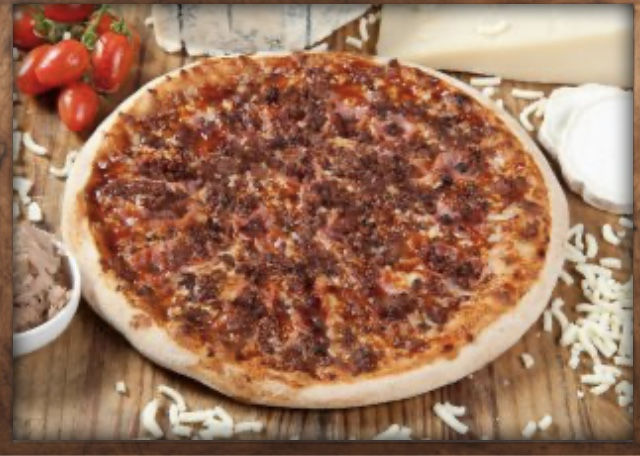 Pizza Celiaco Barbacoa