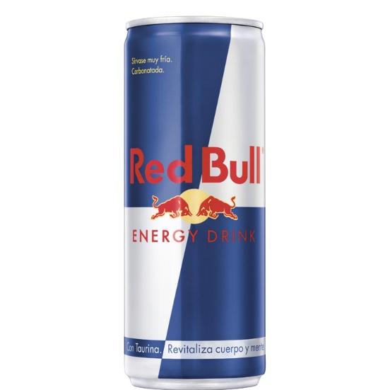 Lata de Red Bull  Energy Drink