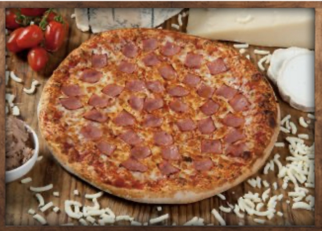 Jambon à  pizza coeliaque