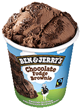 Ben&Jerry's Fudge Brownie 100ml