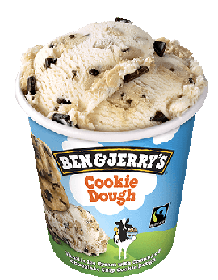 Ben&Jerry's cookie dought 500ml