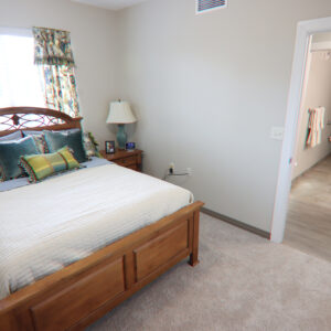 skilled nursing facility bedroom
