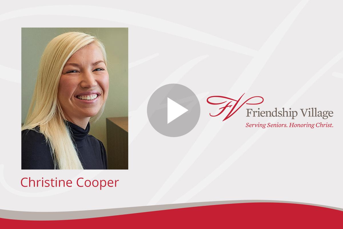 Christine Cooper Video Image