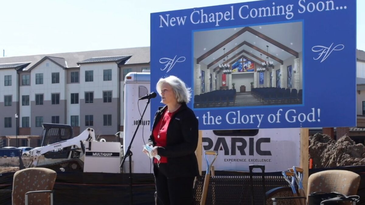 Announcement of new chapel
