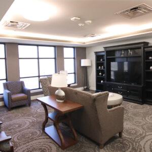 Skilled nursing facility lounge