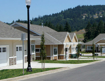 An exterior photo of Springbrook Meadows