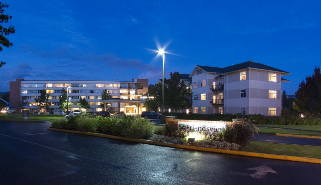 Friendsview Retirement Community - Night Photographs, Newberg, O