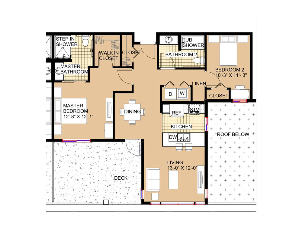 William Penn 1,020 sq. ft. $251,548 Entry Fee, $1,971/Month