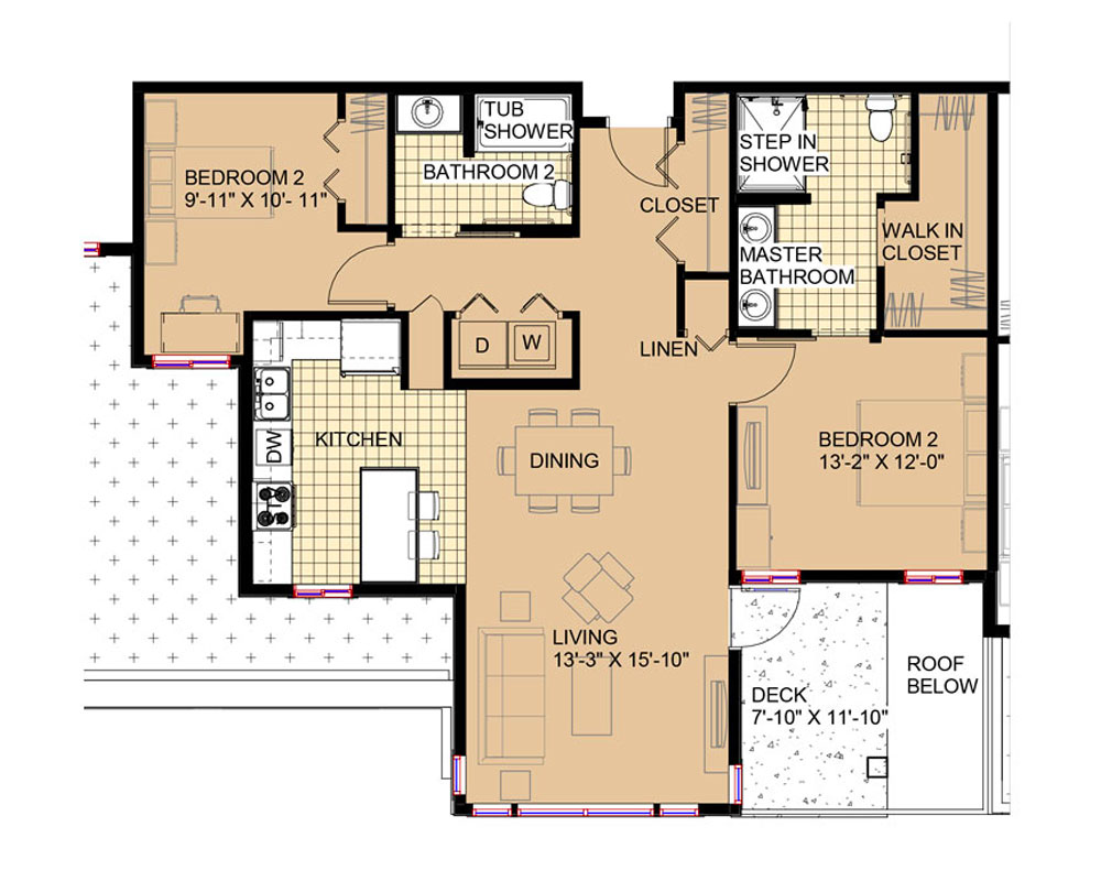 Friends 1,160 sq. ft. $283,329 Entry Fee, $2,000/Month