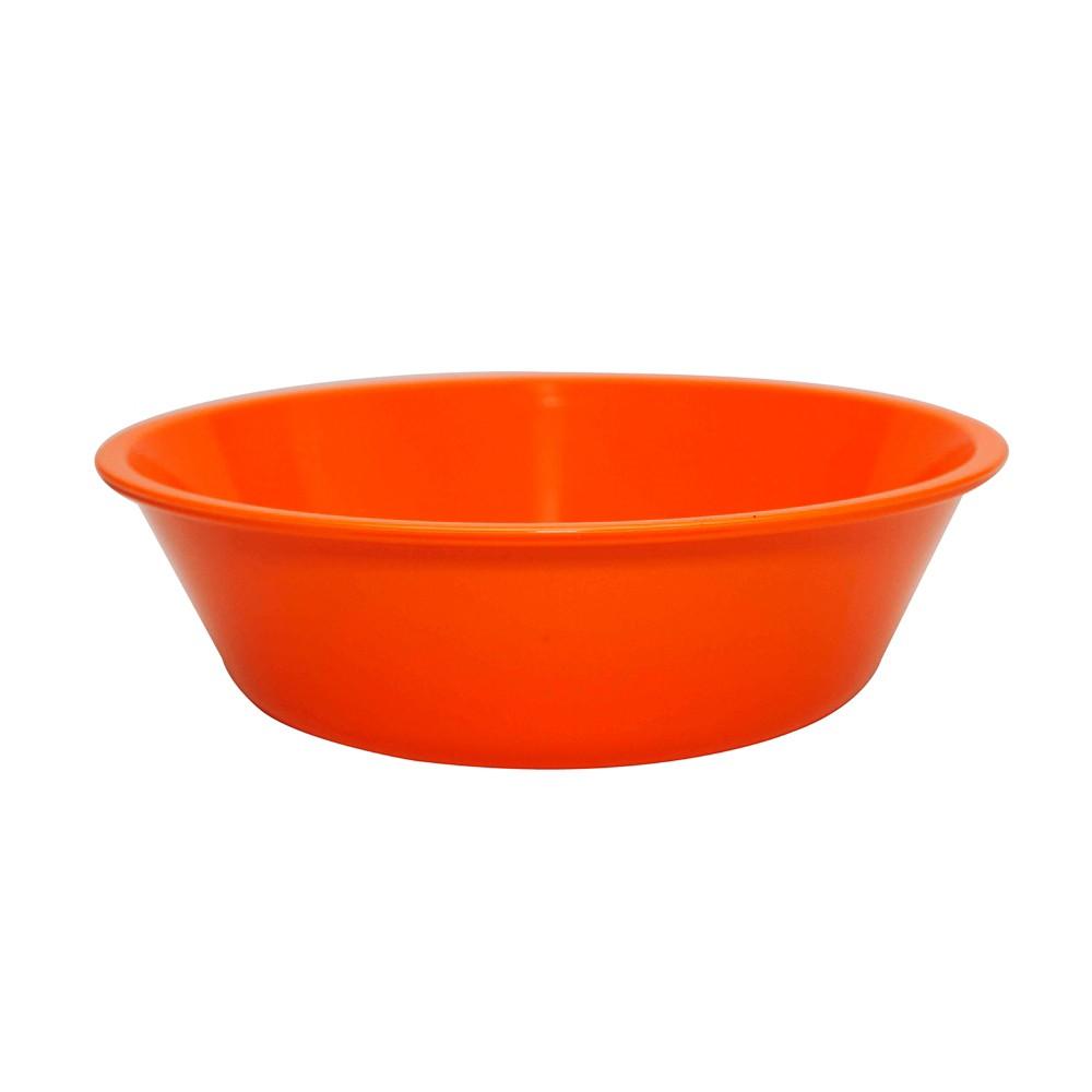 Bowl Basic 2 Lts de Polipropileno Laranja Vemplast