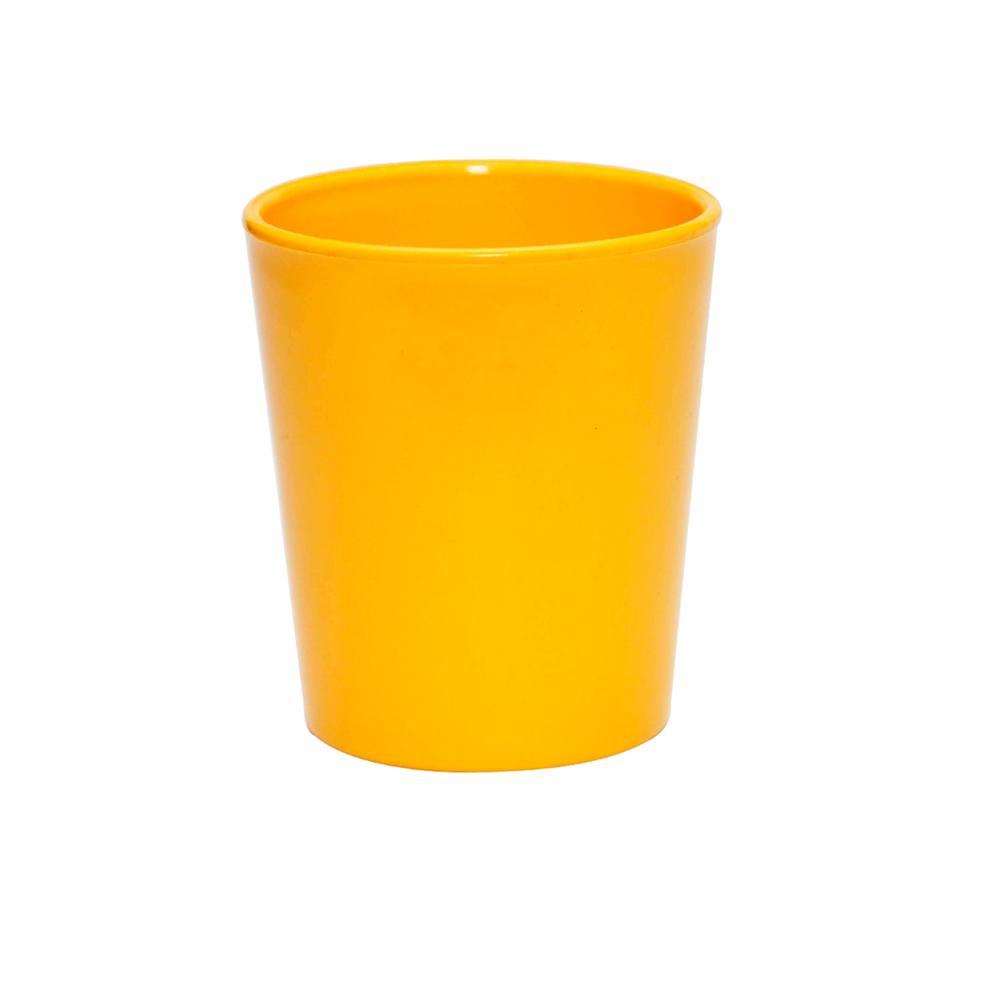 Copo Fresc 200 ml de Polipropileno Amarelo Vemplast