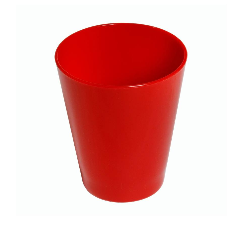 Copo Fresc 350 ml de Polipropileno Vermelho Vemplast