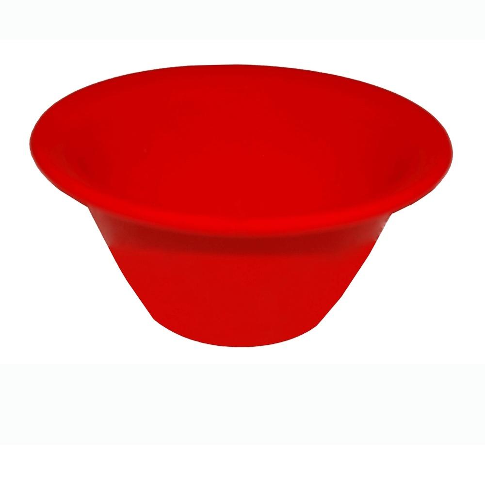 Cremeira 130 ml Caribe Vermelha de Polipropileno Vemplast