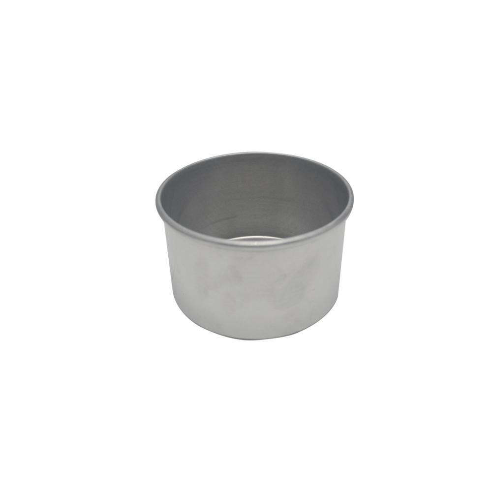 Forma de Bolo Redonda de Aluminio Reta Fixa 11x7 cm Doupan